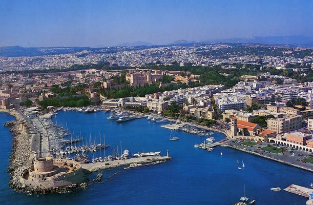 Island of Rhodes Greece