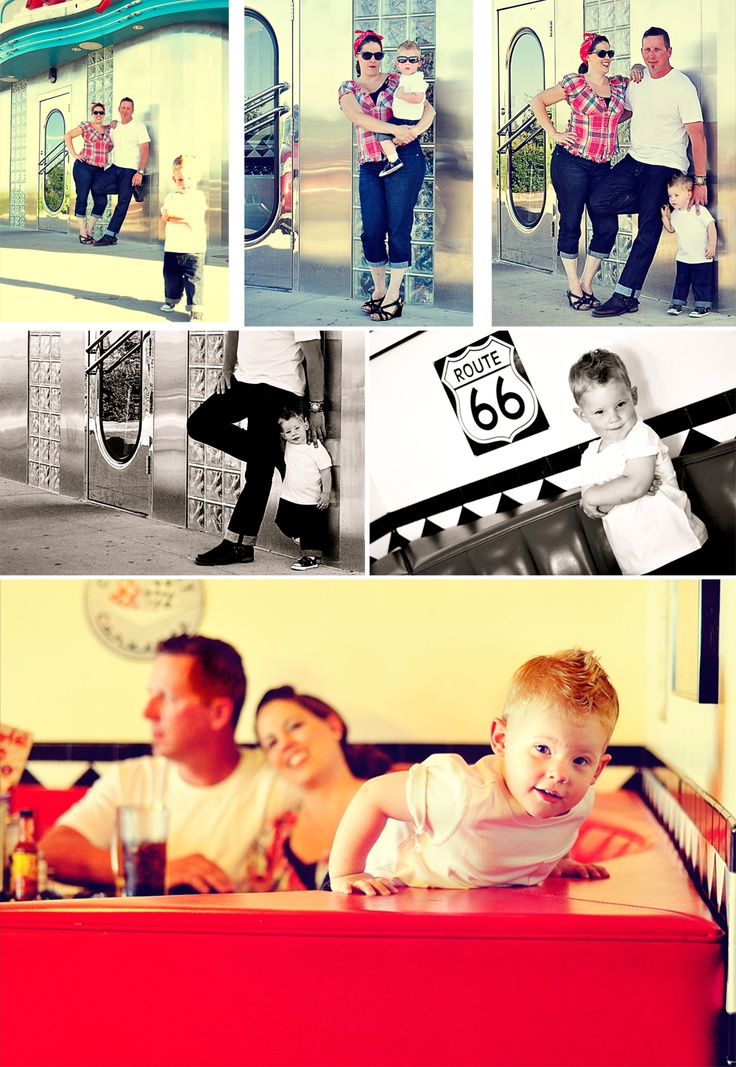 K Thompson Photography and Design: Rockabilly Family- {Rigdon Gage Turns 2!}