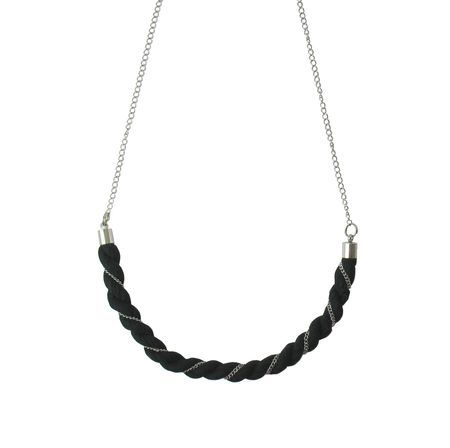 Ash Necklace. Made From 100 % Organic Cotton!