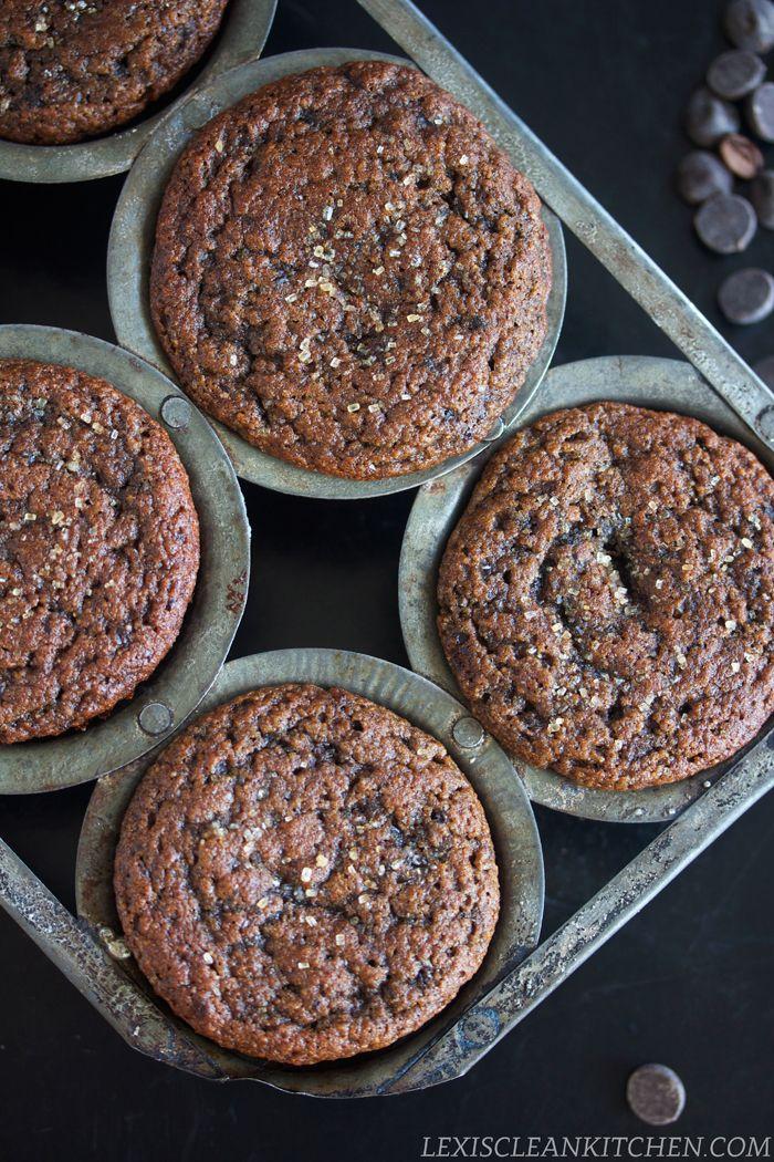 Mocha Fudge Muffins. Paleo, gluten-free, dairy-free.