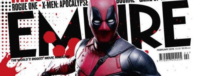 Deadpool fait sa pub l pour le prochain numéro du magazine Empire consacré à lui-même #Deaspool