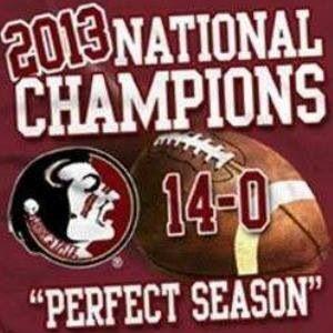 FSU.  Perfect season