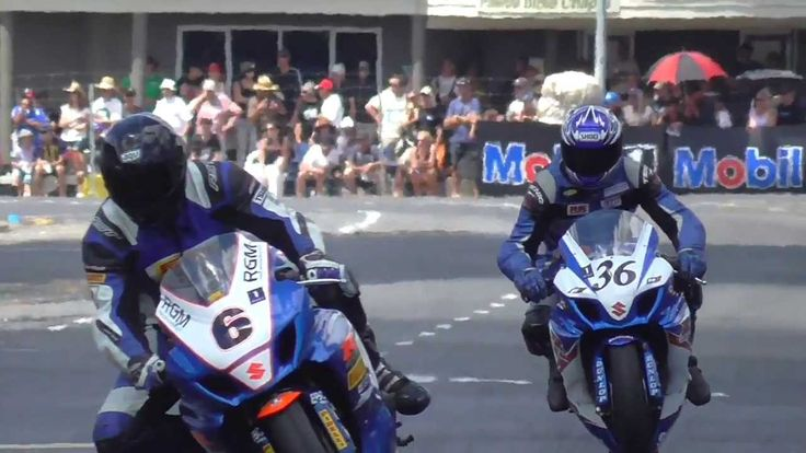 A day at the races. Motorcycle races that is.