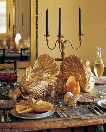 Gold Turkeys