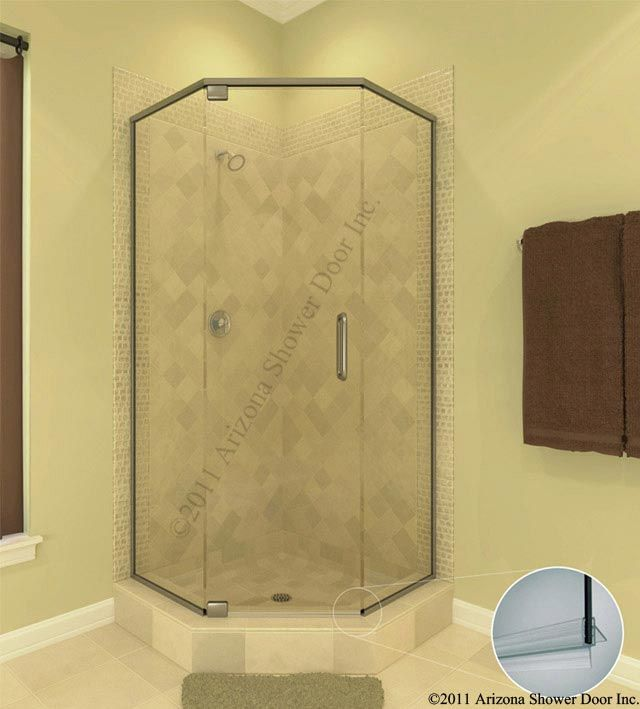 Arizona Neo Angle Shower Door Master Pinterest Neo