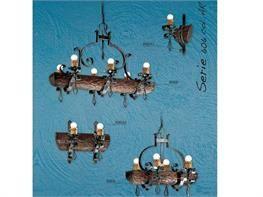 Lampadari in ferro battuto collezione Lux606