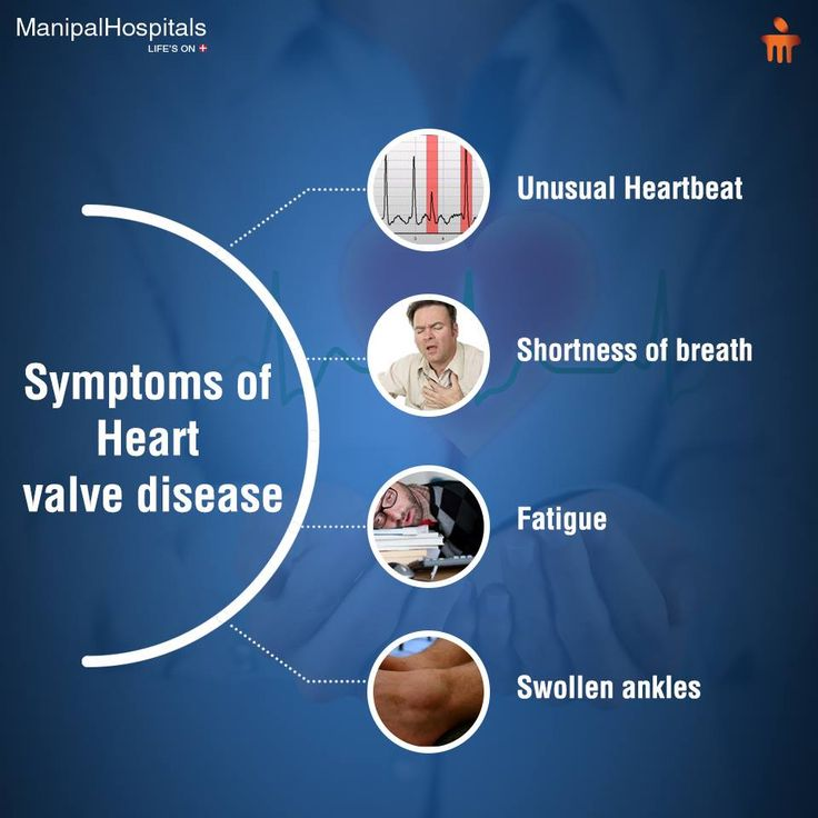 the symptoms treatment and prognosis of heart valve disease Heart valve disorders can affect any of the valves in your heart your heart valves  have flaps that open and close with each heartbeat, allowing.