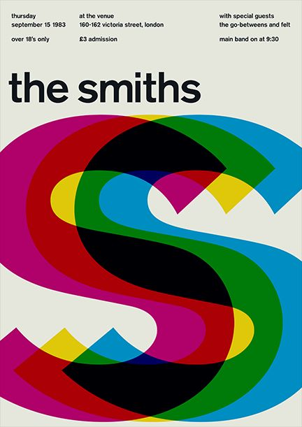 The Smiths 83 •Mike Joyce