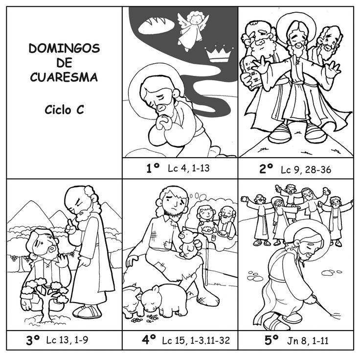 Mejores 8 imágenes de Cuaresma en Pinterest | Domingo, El espíritu y ...