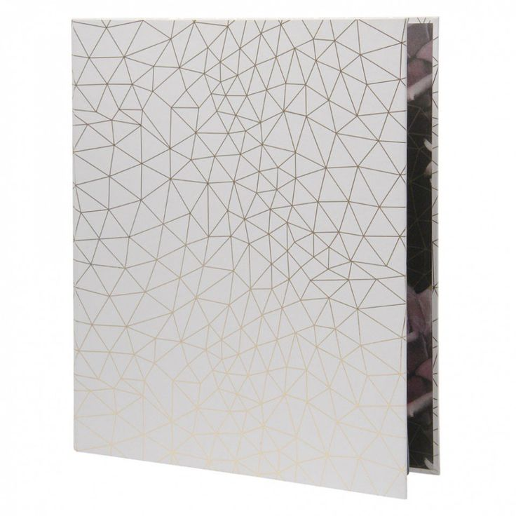 Gothic Garden ring binder with dividers