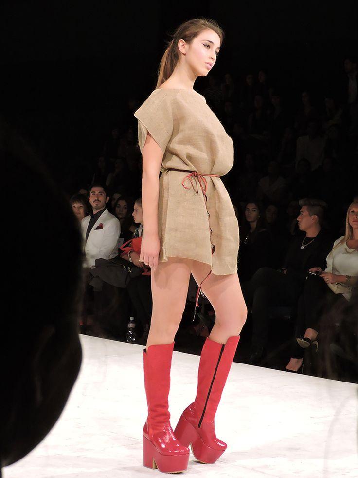 Eduardo Zapatero. Santiago Fashion Week.