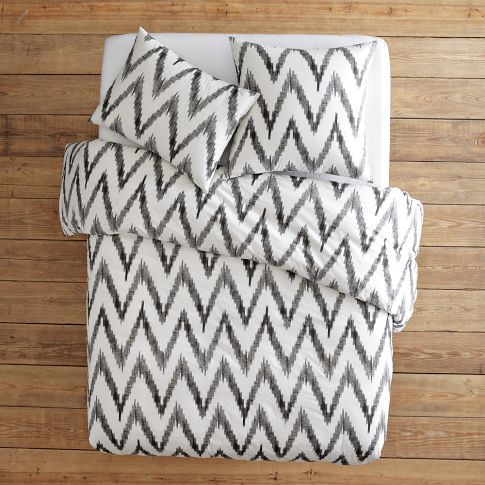 i am beyond bummed that west elm treats all of their bedding (including organic) with a chlorinated fire retardant! :(