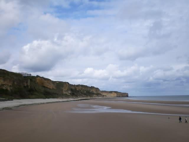 Omaha Beach sector Charlie, Normandie, France