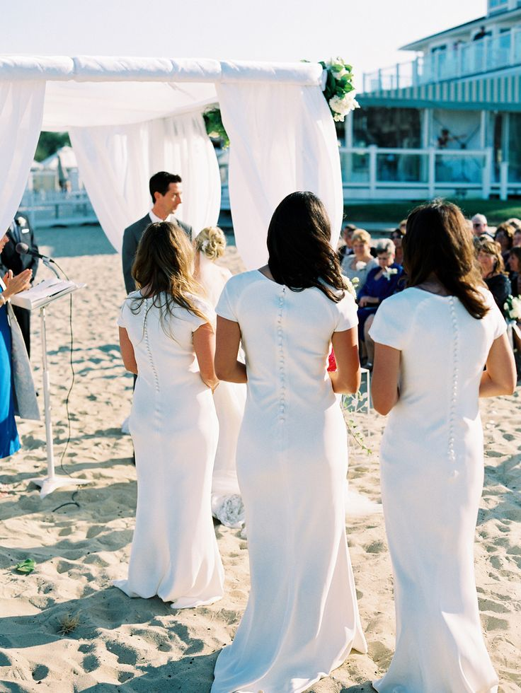 #Pippa Middleton style #bridesmaids dresses, love! | Photography: www.trentbailey.com