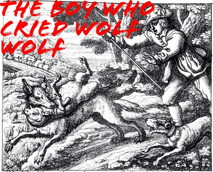 The Wolf from the Boy who Cried Wolf