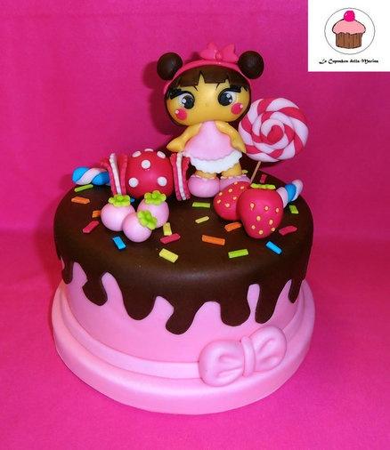 candy cake - by Le Cupcakes della Marina @ CakesDecor.com - cake decorating website