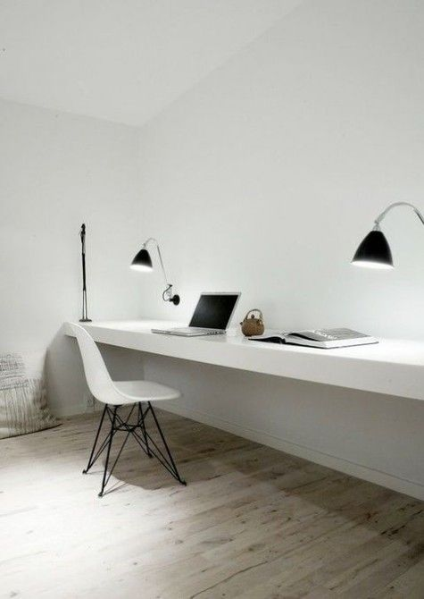 Superb ComfyDwelling.com » Blog Archive » 47 Adorable Minimalist Home Offices Awesome Ideas