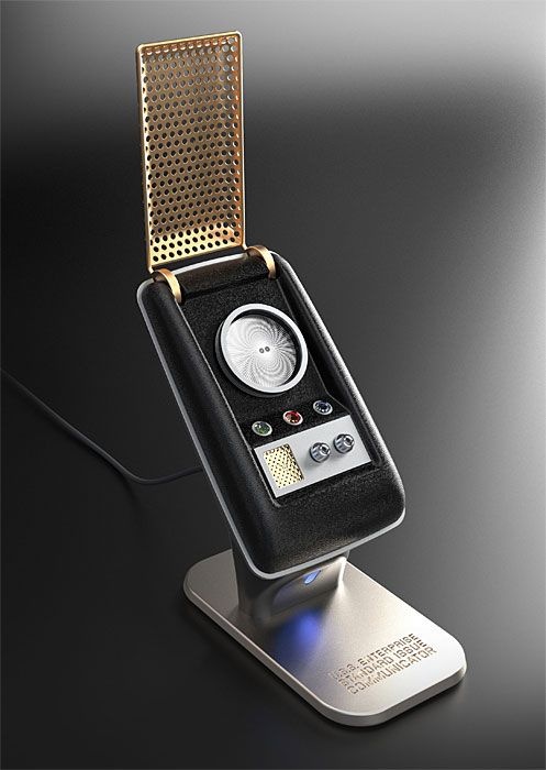 With the flick of a wrist, you will be answering calls like Kirk and Spock with the very first fully-functional wireless Star Trek Communicator.