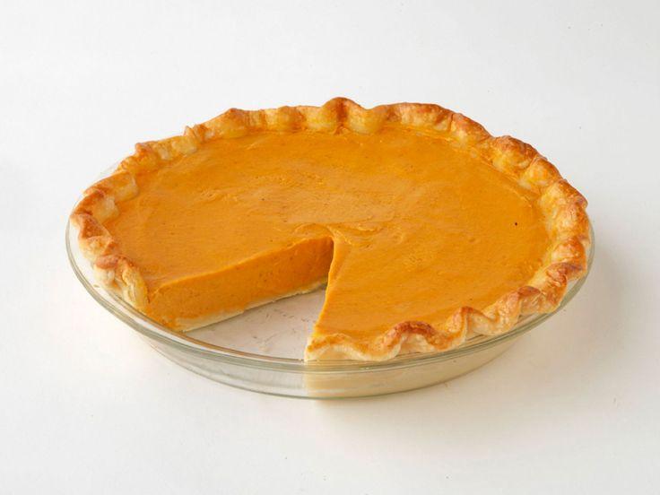 Pumpkin Pie recipe from Paula Deen via Food Network