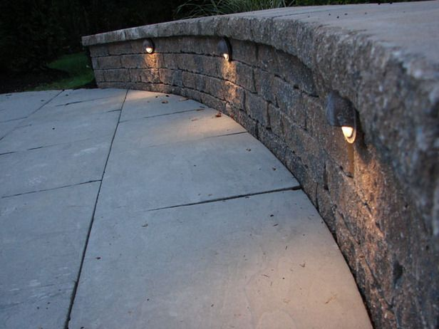 62 best deck images on pinterest | backyard ideas, deck stairs and ... - Concrete Patio Lighting Ideas