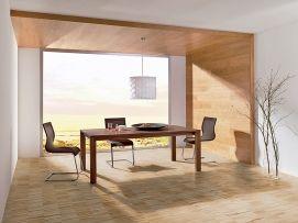 Zajímavé řešení nabízí systém dřevěného obložení stěn.