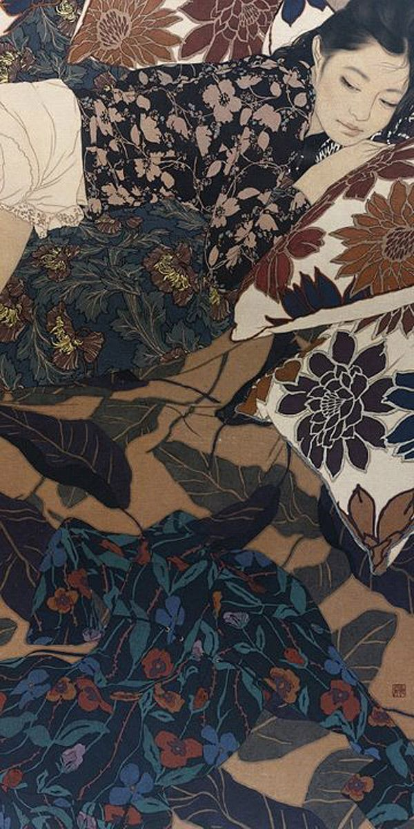 Ikenaga Yasunari   The Japanese art of Nihonga re defined inspiration