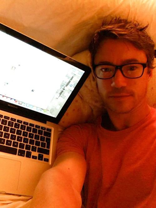 Dominion(SyFy): Tom Wisdom LiveTweeting Selfie *Oh My Archangel!!!!*
