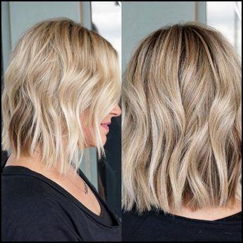 10 beste mittlere Frisuren für Frauen – fügen Sie etwas Blondine zu Ihrem Leben hinzu   – Leslie Dodson