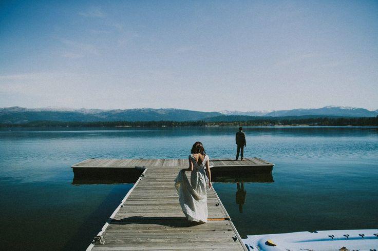 Mountain Lake Wedding | Allison