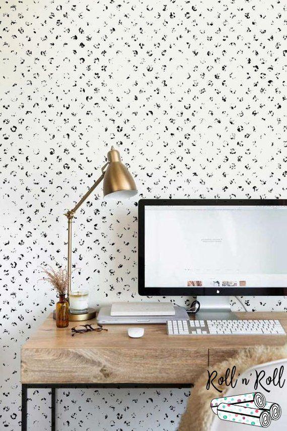 Black Herringbone Removable Wallpaper Geometric Self Adhesive Etsy Herringbone Wallpaper Removable Wallpaper Home Wallpaper