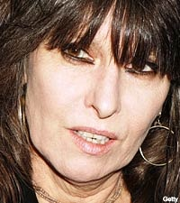 The Goddess that is called Chrissie Hynde.