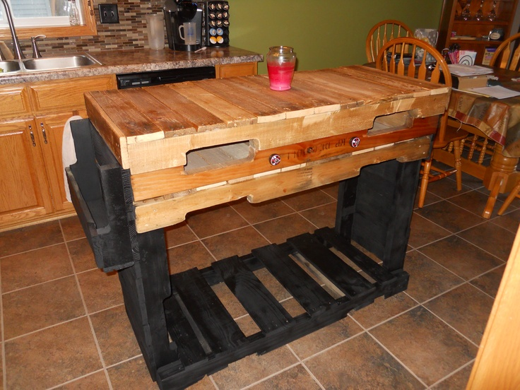 Kitchen Island Out Of Pallets 106 best pallet ideas images on pinterest   pallet wood, diy and home