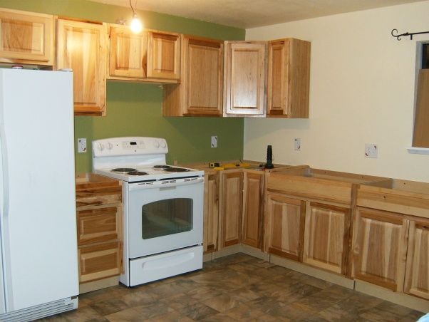 Mobile Home Kitchen Renovation Ideas | Kitchen Remodel in Mobile Home, We completly gutted the old kitchen ...