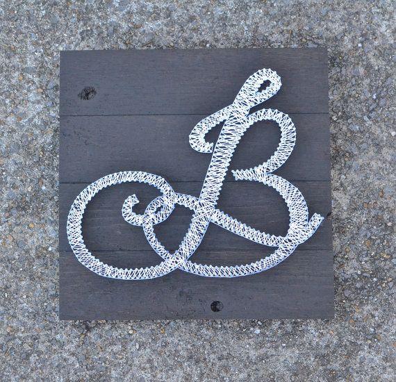 Initial String Art, Wedding gift