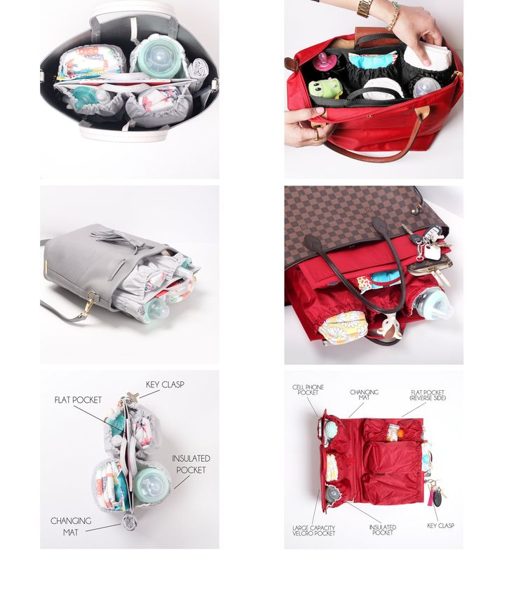 {Order processing takes 1-3 business days through 12/31/16} ToteSavvy Mini is the modern alternative to a diaper bag by combining the inner lining of a traditional diaper bag with your own handbag col