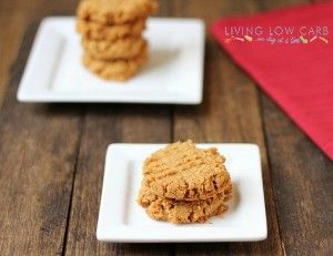 Living Low Carb One Day At A TimeAlmond Butter Coconut Cookies, Low ...