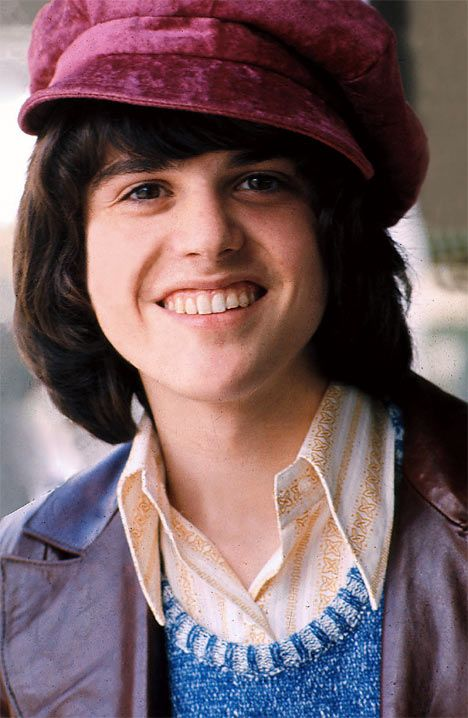 donny osmond. one of my first crushes. My favorite color at the time was purple because it was his favorite color, according to Tiger Beat.