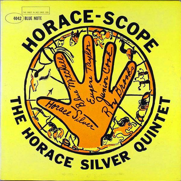 1960 The Horace Silver Quintet - Horace-Scope [Blue Note BLP4042] cover illustration by Paula Donohue #albumcover