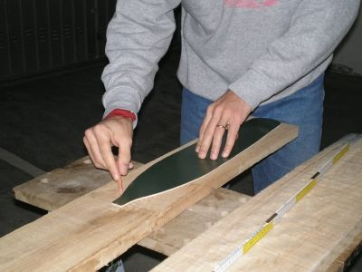 Very good tutorial on paddle making