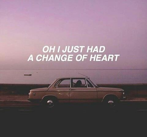 Pinterest: @malakhatem Change of Heart // The 1975