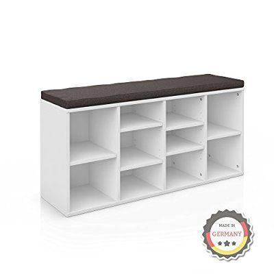 17 best ideas about schuhbank wei on pinterest schuhschrank mit sitzbank ikea haken and nero. Black Bedroom Furniture Sets. Home Design Ideas