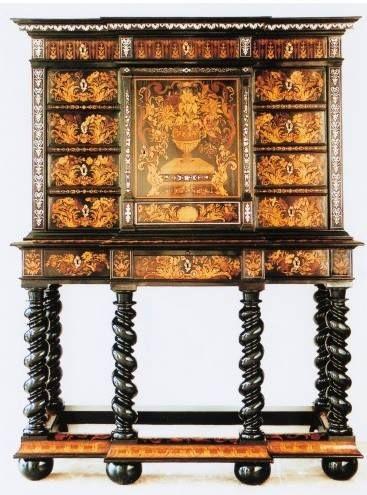 Pierre Gole (v.1620-1684) - Cabinet, Paris, vers 1680 - Alkmaar, Stedelijk Museum