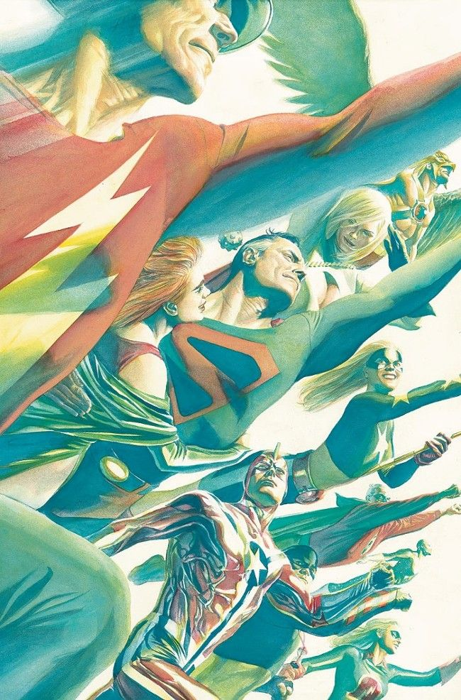JUSTICE SOCIETY OF AMERICA, by Alex Ross.
