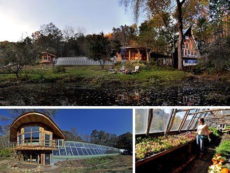 : Green Houses, Dreams Houses, Modern Trees Houses, Trees Houses Design, Tree Houses, Eco Houses, Trees Home, Ecohome Greenhouses, Greenhouses Connection