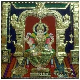 How To Make Embossed Tanjore Painting