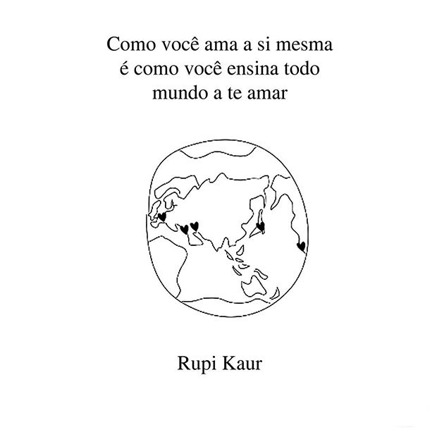 Rupi Kaur faz poesias de força e sensibilidade sobre temas da vida feminina - Follow the Colours