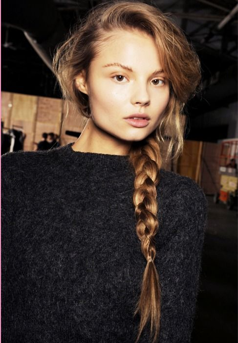 Magdalena Frackowiak | HaiR | Pinterest | Big braids ...