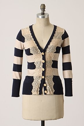 love the laceSweaters, Fashion, Anthropology, Style, Clothing, Fields Games, Add Lace, Games Cardigans, Lace Cardigans