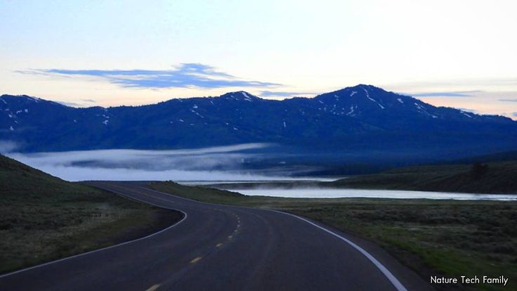 Due to about a 50 degree difference in day and night temps a pre-dawn drive through Hayden Valley in #yellowstone can turn out a bit foggy! June 2017. #FindYourPark #NationalParks #nationalparkgeek #wyoming #NTFwyolooptour #nationalparkfamily #naturetechfam #familytravel #outfam #outdoorfamilies #getoutside #pictureourparks #nationalpark #wx #weather #YellowstoneNPS