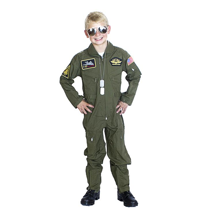 Kids Woodland Army Costume